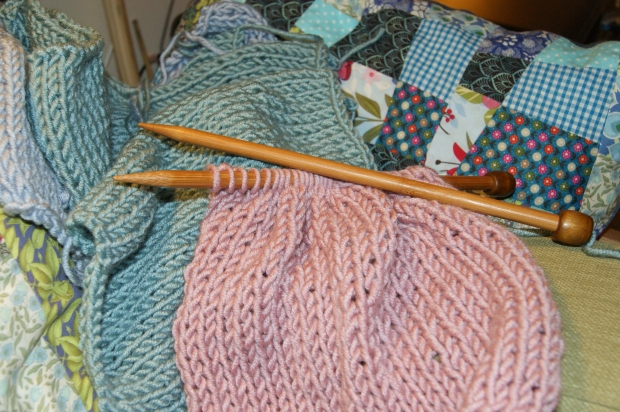 I love the soft, snuggly feel of the Stylecraft Weekender yarn, but the colours are quite muted. I'd love to see some bolder shades!