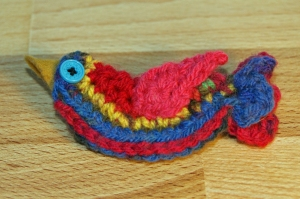 My beautiful birdie brooch