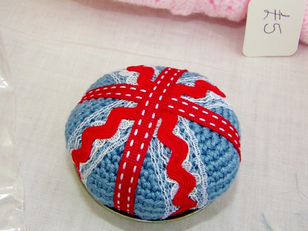 My Union Jack pincushion