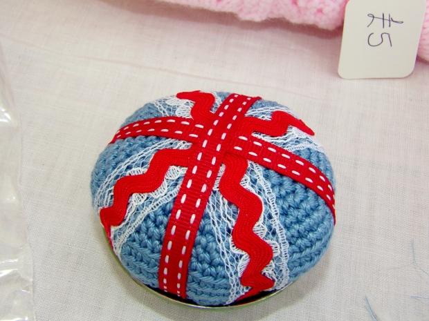 My Union Jack pincushion