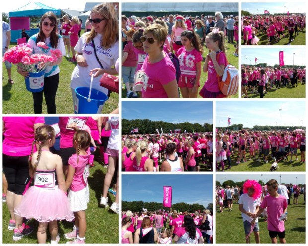 Getting ready to Race For Life