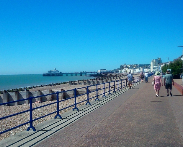 My last picture of Eastbourne Pier before the fire.