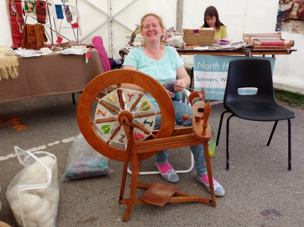 Izzy the spinning wheel