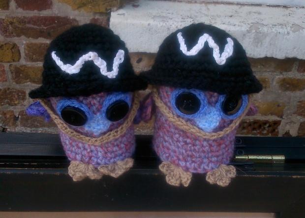 amigurumi crochet owl wardens