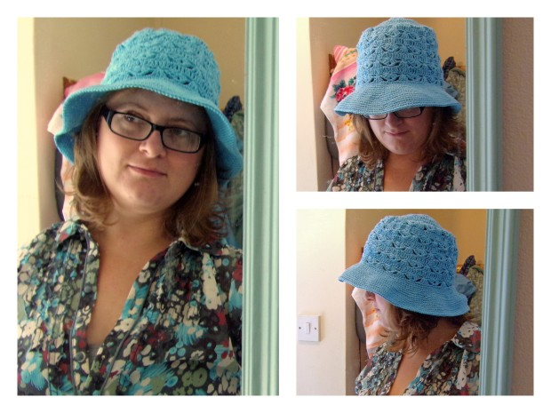 best of lovely linen crochet sunhat