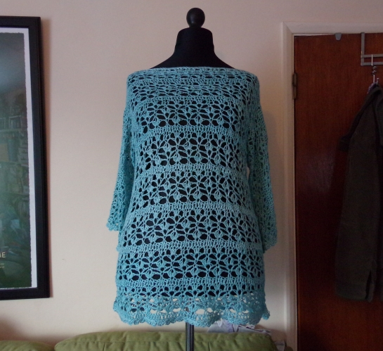 Crochet jumper 1
