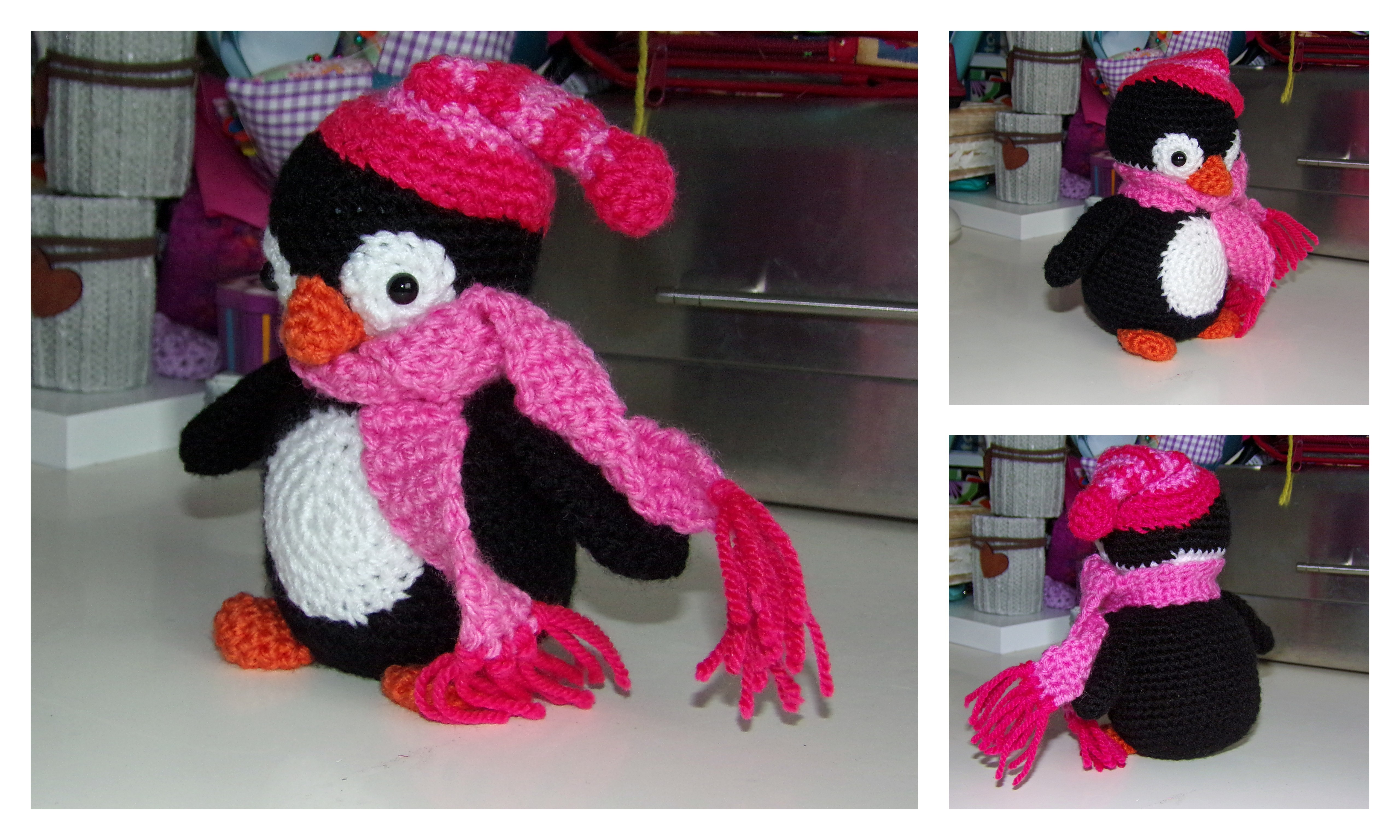 More crocheted amigurumi presents for kids the dragon ...