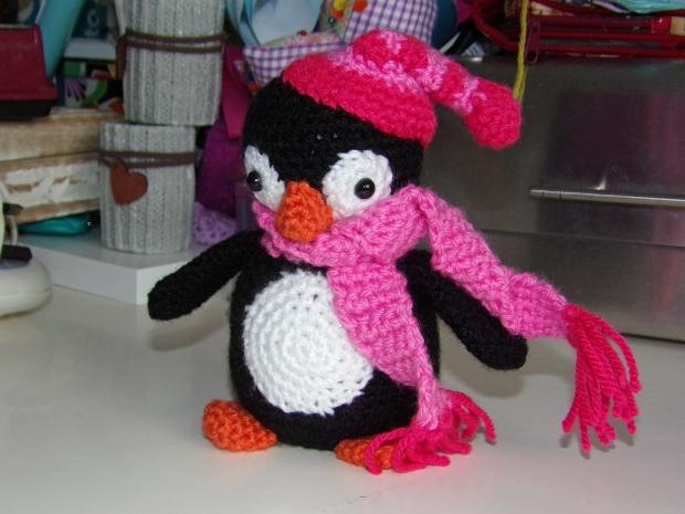 Amigurumi penguin