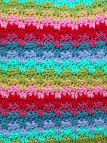 raindrops crochet stitch