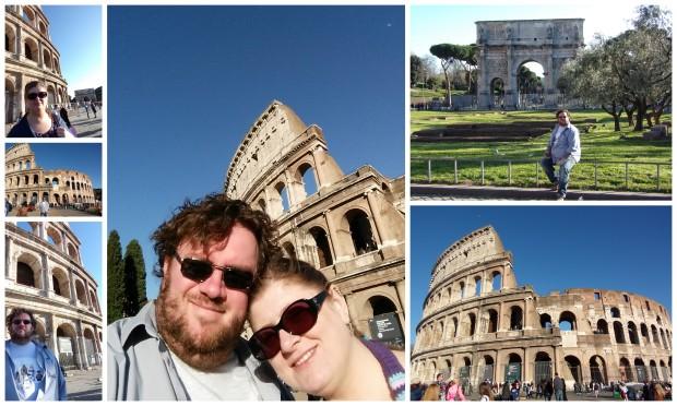 Colosseum collage