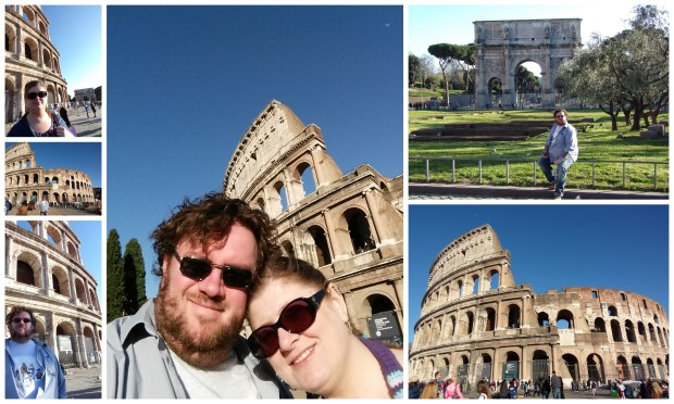 Colosseum collage