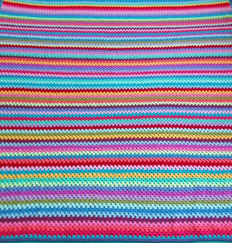 All the crochet stripes