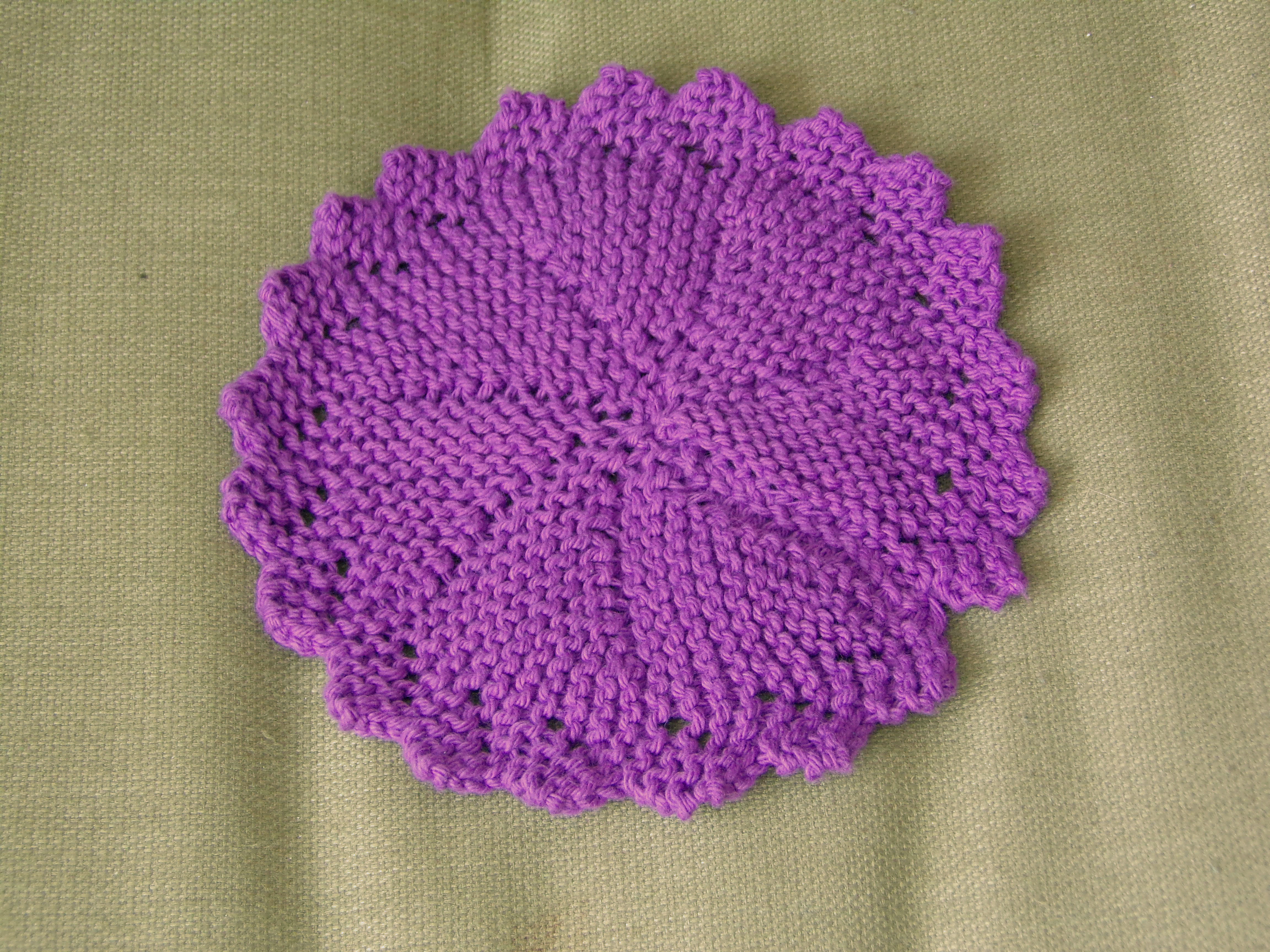 My 100th post time for some wonderful washcloths then bamcrafts short row knitted washcloth bankloansurffo Images