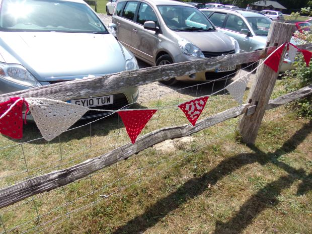 More carpark bunting :(