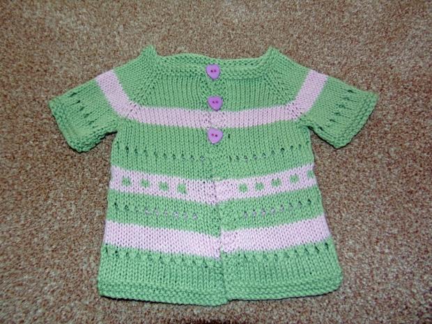 Mum's baby cardigan