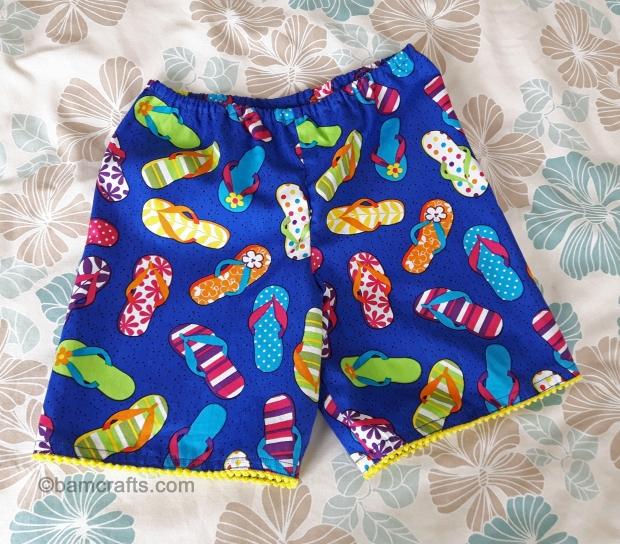 flip flop shorts