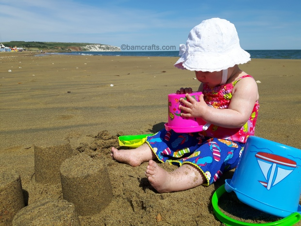shorts and sandcastles