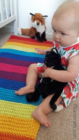 baby on the rug 3