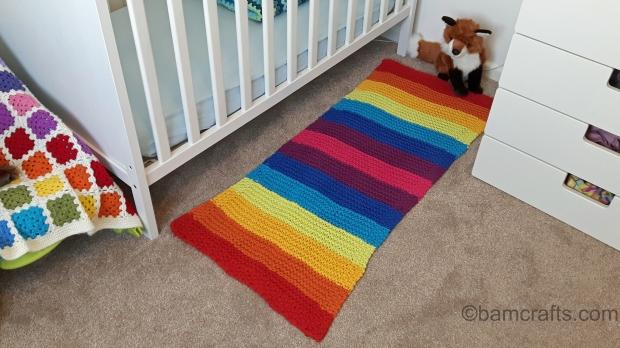 baby room rainbow rug 2