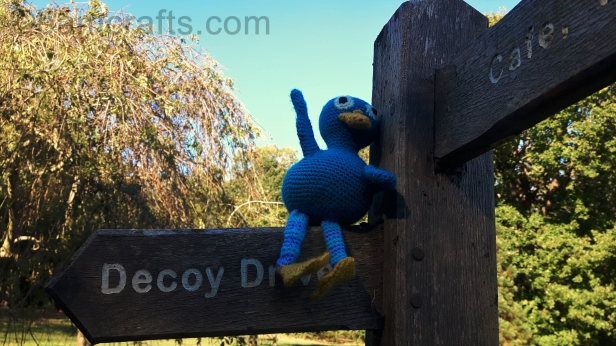 crochet-duck-signpost