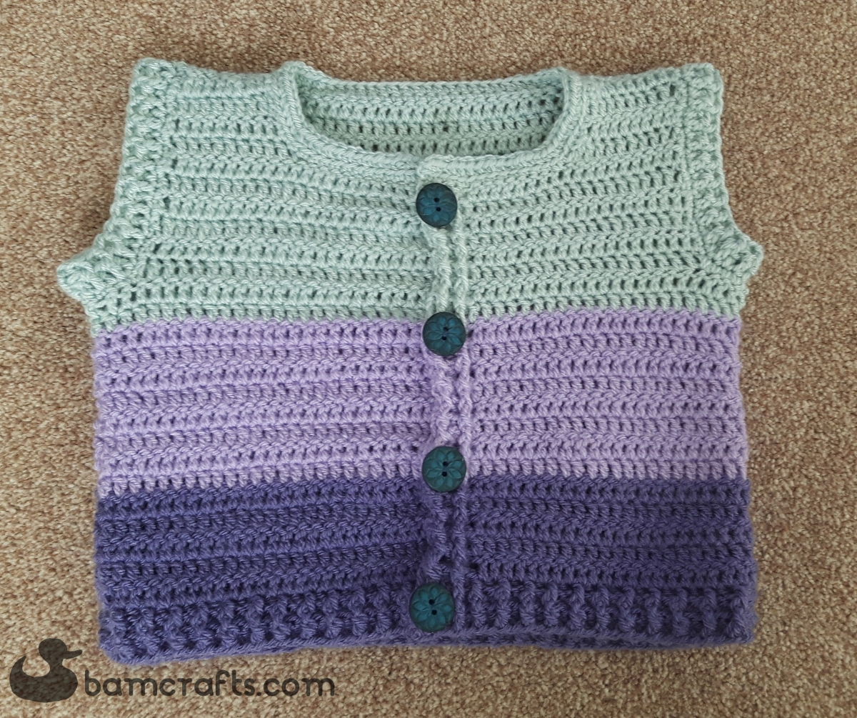 7bc3384ee 3 Colour Sleeveless Cardigan for Toddlers – bamcrafts