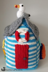 crochet beach house front