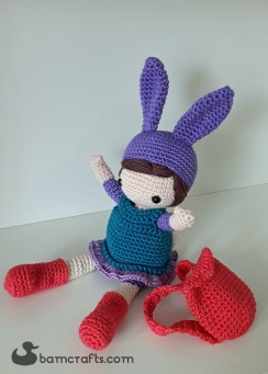 crochet bunny girl 1
