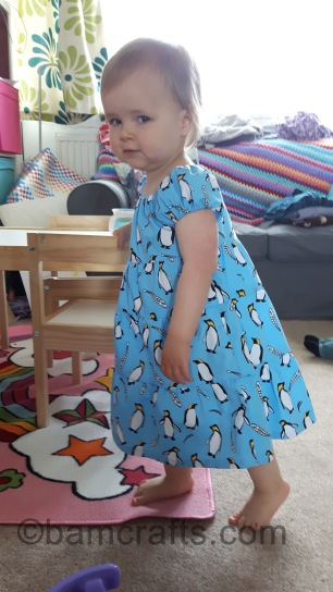 penguin dress 2