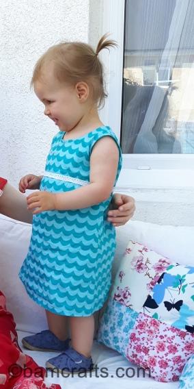 wavy dress